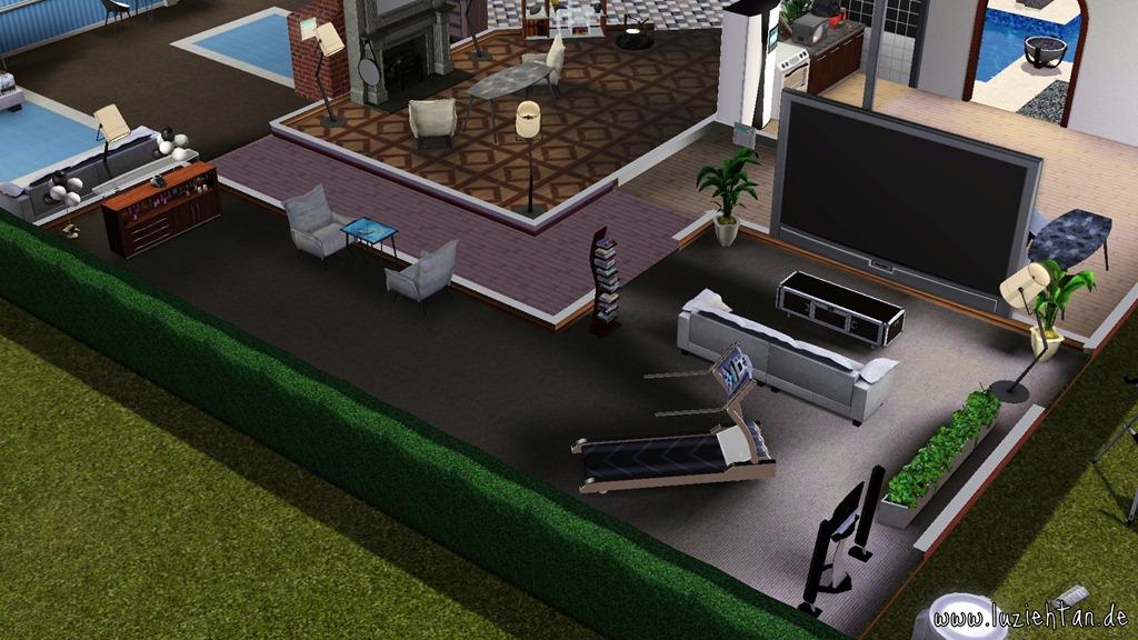 game-?review? ? sims 3 diesel accessoires - lu zieht an. ♥ ® - Sims 3 Wohnzimmer Modern