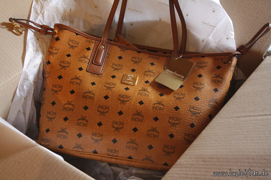 NEW ♥ MCM Shopper Lu zieht an. ♥ ®