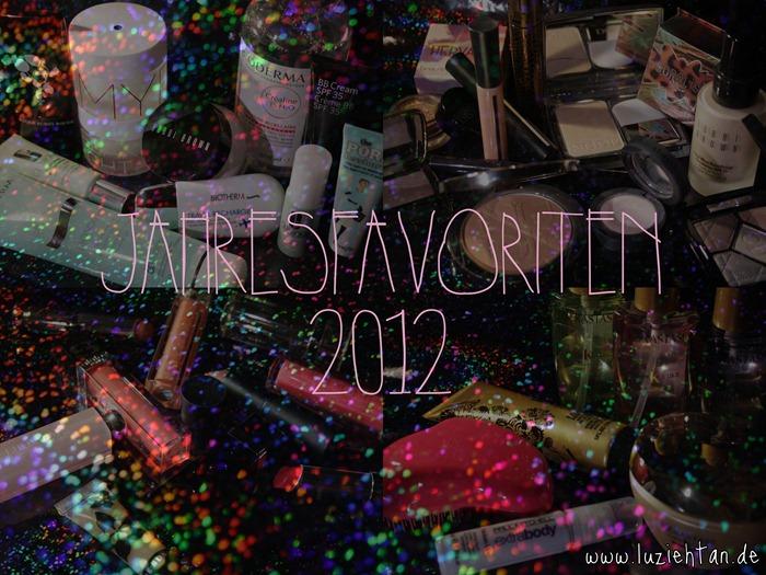 Jahresfavoriten 2012