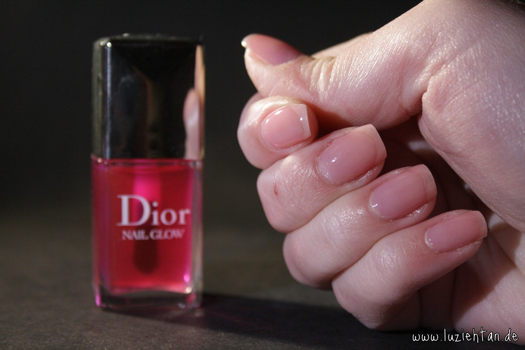 "Nägel ♥ 24.01.13 – Dior ""Nail Glow"" Instant French ..."
