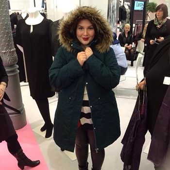 Love this Ulla Popken coat