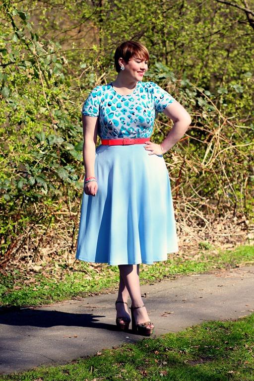 Outfit ♥ Blue Leopard