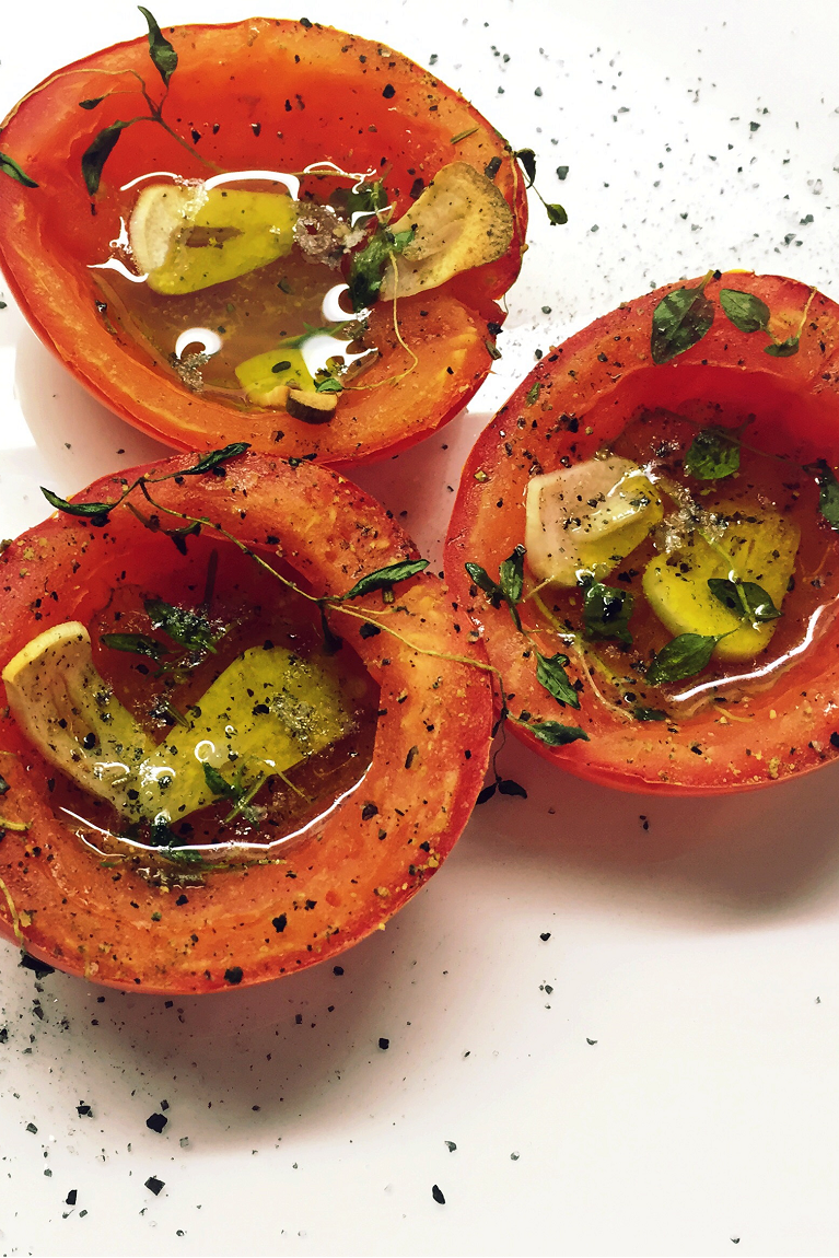 • Recipe – Tomatoes & Thyme •