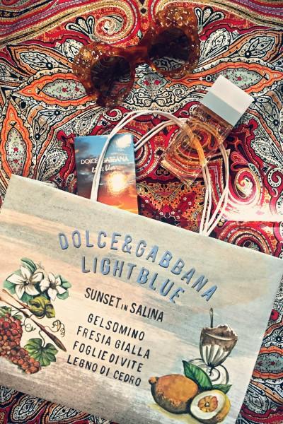 "• Dolce & Gabbana ""Light Blue 'Sunset in Salina'"" (Limited Edition 2015 | Eau de Toilette) •"