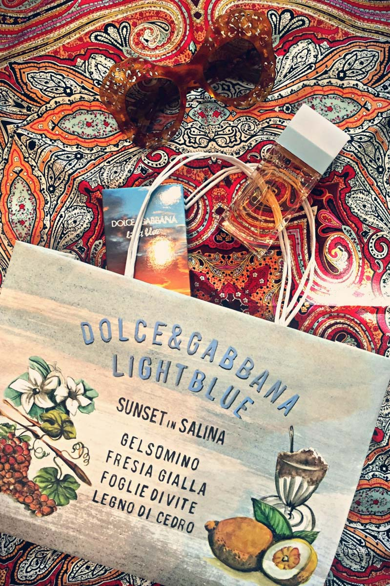 "• Dolce & Gabbana ""Light Blue 'Sunset in Salina'"" (Limited Edition 2015 