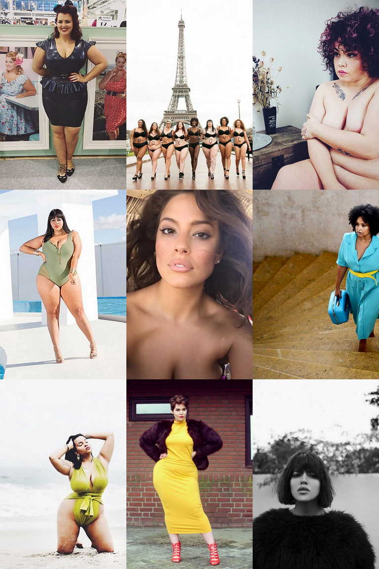 • My 9 Favorite Plus Size Instagrammers •
