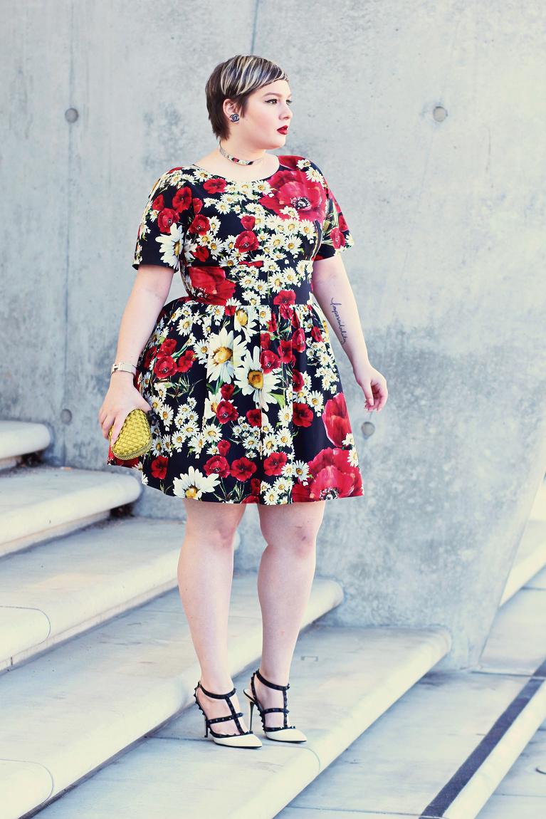• Poppies & Daisies II •