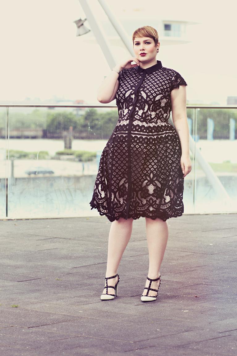 • Black & White Lace •