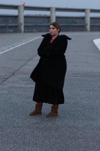 It's cold and dark. Not happy with the situation (especially cause I'll have to leave my warm boots) but what has to be done... ;) | Es ist kalt und dunkel. Nicht zufrieden mit der Situation (vor allem, weil ich meine warmen Stiefel verlassen muss), aber was getan werden muss... :)